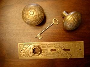 Eastlake Corbin bronze hardware