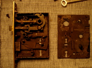 The anatomy of a mortise lock